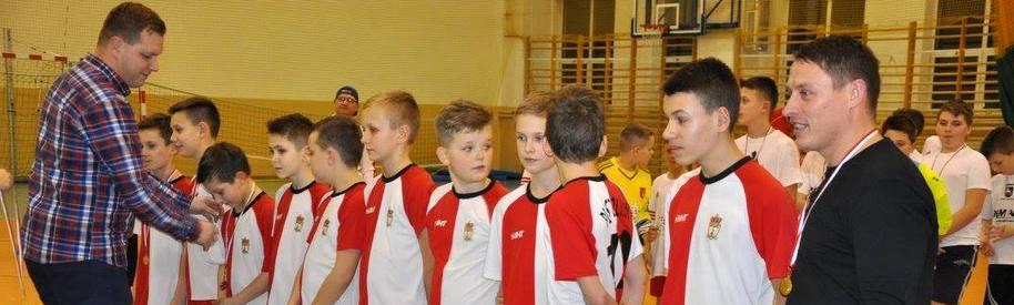 Zimowy Turniej Halowej Piłki Nożnej - Młodziki