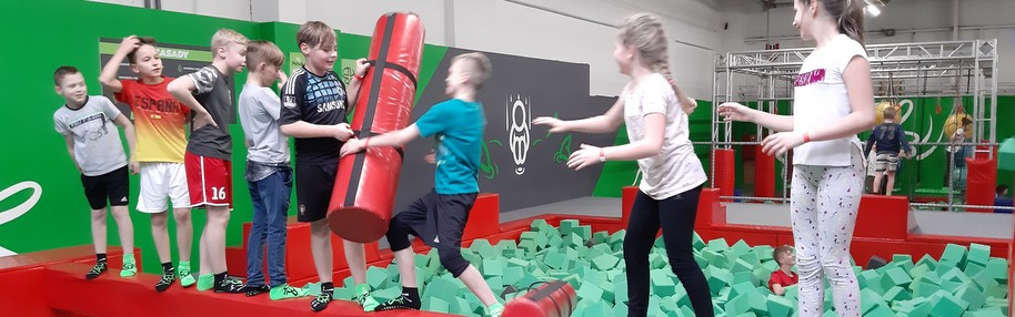 Ferie z MOKSiRem '2019 - Go Jump w Krakowie