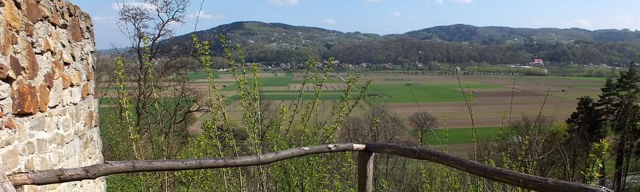 Widok z Baszty w Czchowie